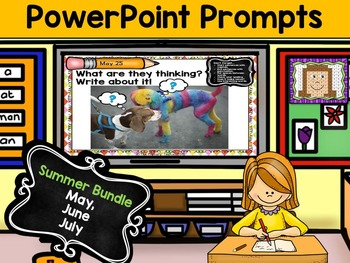 PowerPoint Prompts - Summer Bundle