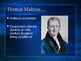 PowerPoint:  Prophecy of Malthus