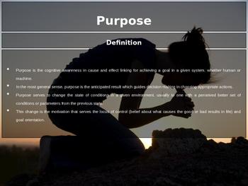 PowerPoint - Purpose