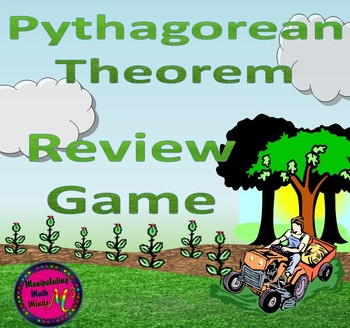 PowerPoint Pythagorean Theorem Review game