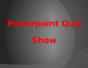 PowerPoint Quiz Show Template