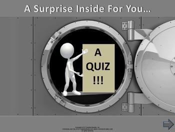 PowerPoint Quiz Templates Set C (10 templates)
