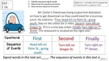 RI 3.8 PowerPoint: First, Second, Third