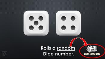 Random Dice Roller (PowerPoint)