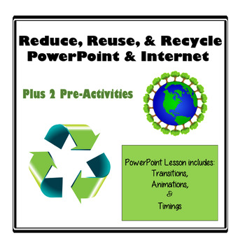 PowerPoint - Recycle Project - What Can You Make From Recycled Materials