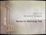 PowerPoint, Review for Test on Greek Mythology