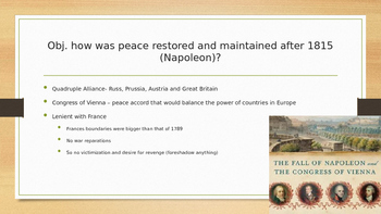 PowerPoint Revolutions, Ideologies and Nationalism AP Euro