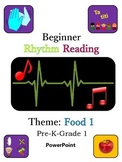 PowerPoint: Rhythm Reading Beginner: Quarter Note, Double 8th Note, Quarter Rest