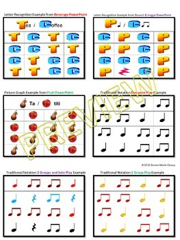 PowerPoint: Rhythm Reading Beginner: Quarter Note, Double 8th Note, Quarter Rest