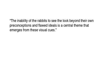 PowerPoint- Shaun Tan, The Rabbits/Originality and Creativity