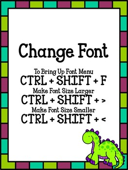 PowerPoint Shortcuts (a TPT Seller Resource)