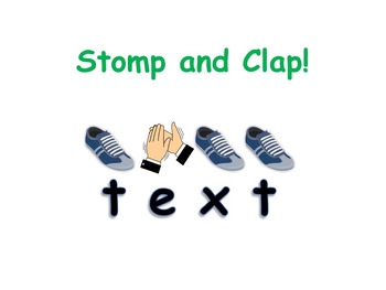 PowerPoint Sight Word Game Templates