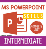 PowerPoint Skills Complete Unit