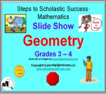 geometry slide show for grades 3 and 4 angles 2d shapes 3d