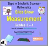 Measurement Slide Show for Grades 3-4, Perimeter, Area, Volume, Weight, Etc.