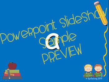 PowerPoint Slide Show - Sight Words:  Pre-Primer