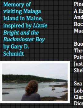 PowerPoint Slides for Memory Word List Poem