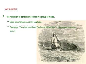 PowerPoint: Sound Devices and Syntax Literary Terms