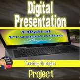 Digital Presentation Student Project – For any grade/subject