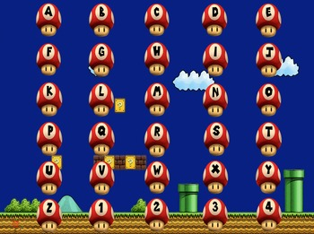 Super Mario (Doubled) PowerPoint Game