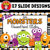 PowerPoint Template Fall Monsters