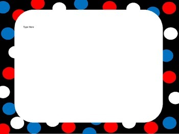 PowerPoint Template - Red, White, Blue