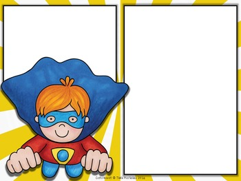 PowerPoint Template Superheroes Standard and Widescreen