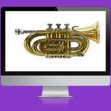 PowerPoint Template: Trumpet Presentation [13 Slides]