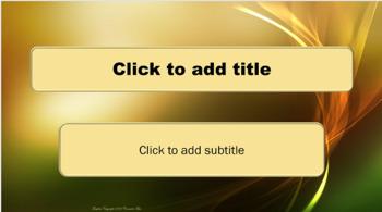 Powerpoint template green and gold swirl by counselor bev tpt powerpoint template green and gold swirl toneelgroepblik Choice Image