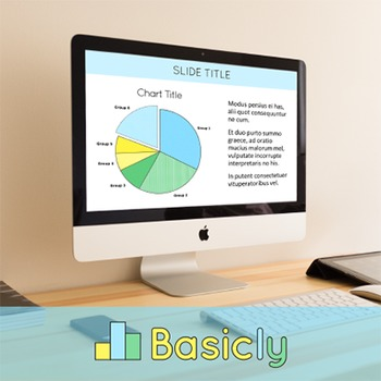 PowerPoint Template for Classroom Teachers - Basic Blue (Commercial Use)