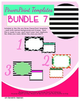 PowerPoint Templates - Bundle #7