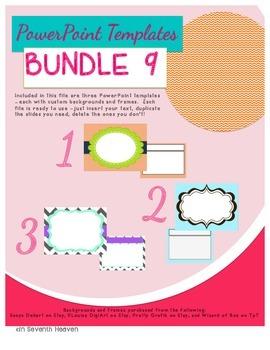 PowerPoint Templates - Bundle #9