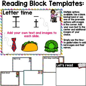 PowerPoint Templates (Stress Free Reading Block)