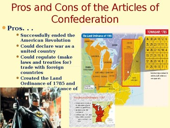 PowerPoint - The Articles of Confederation and Creation of the U.S. Constitution