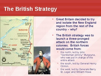 PowerPoint - The Battle of Saratoga