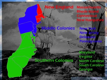 PowerPoint - The English Colonies