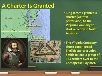 PowerPoint - The Founding of Jamestown