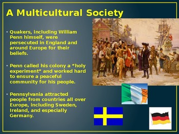 PowerPoint - The Founding of the Middle Colonies