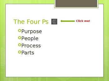 PowerPoint: The Four Ps Lecture