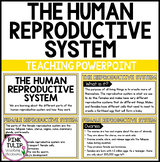 PowerPoint, The Human Reproductive System, Female and Male