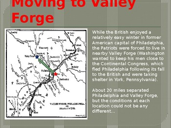 PowerPoint - The Winter at Valley Forge