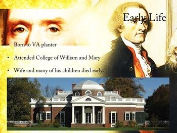PowerPoint: Thomas Jefferson