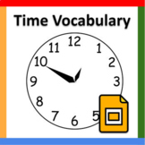 PowerPoint: Time Vocabulary