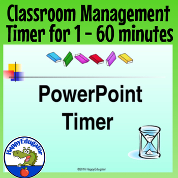 PowerPoint Timer - Time Remaining PowerPoint for Classroom