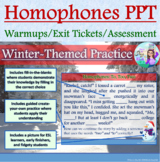 PowerPoint: To/Too/Two Winter-Themed Interactive Practice