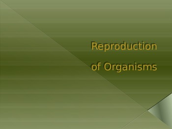 PowerPoint: Types of Reproduction