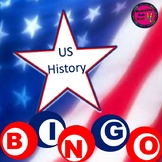 PowerPoint US History Bingo Game 8th grade STAAR review
