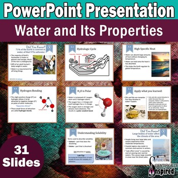 PowerPoint - Water and Its Properties (Ch1)