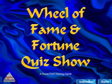 PowerPoint Wheel Of Fame and Fortune Game