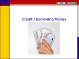 PowerPoint about credit and borrowing money (PPT)